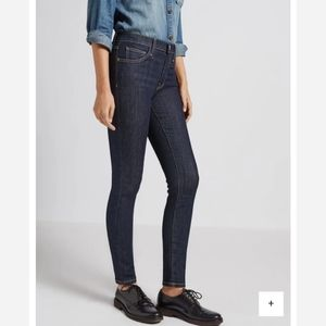 Current/Elliott High Waist Ankle Skinny Jean